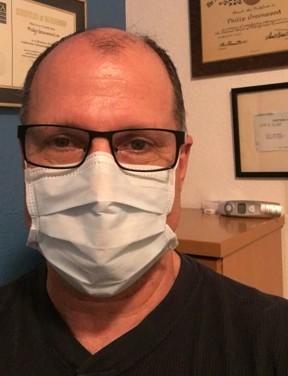 Dr. Greenwood medical mask